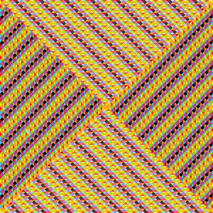 Success story geometric art print - Art Geometrix