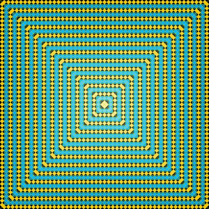 Subtle glow geometric art print - Art Geometrix