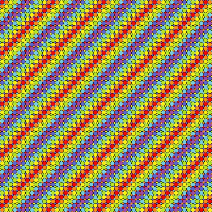 Conveyor blast off geometric art - Art Geometrix