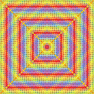 Show of strength geometric art print