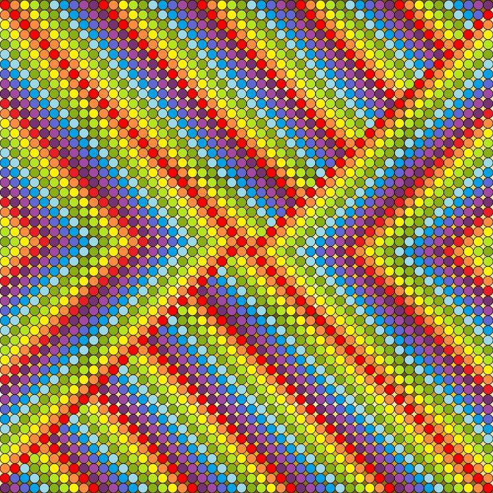 Personalities geometric art print - Art Geometrix