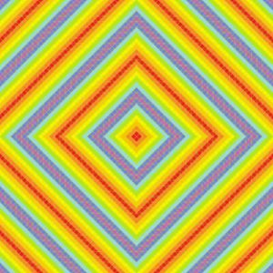 Shiny party geometric art print