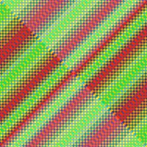 Lighten up geometric art print