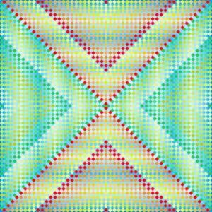 Hydro beauty geometric art print
