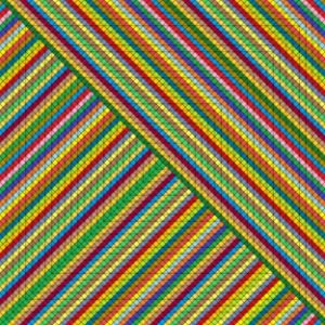 Opposition parallel geometric art