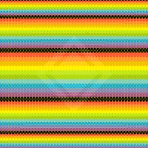 Impression stamp geometric art print