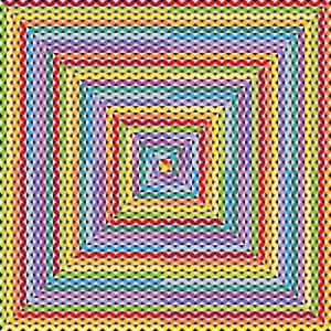 Emboldened geometric art print
