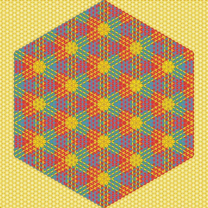 Natural wonder geometric art print - Art Geometrix