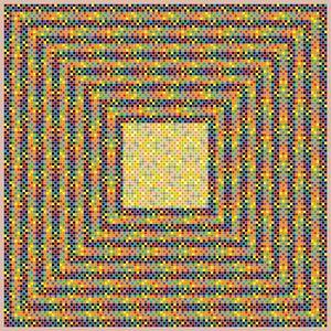 Prickly customer geometric art print