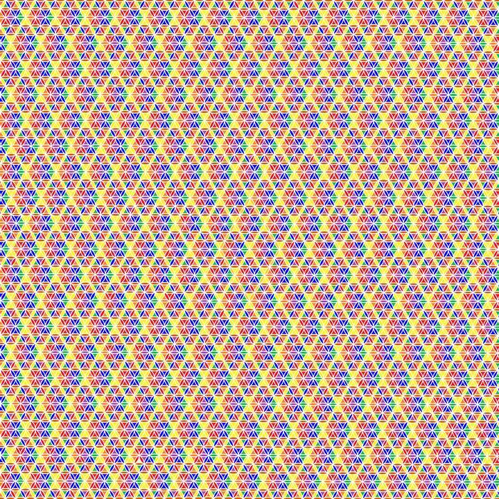 Orderly fashion geometric art - Art Geometrix