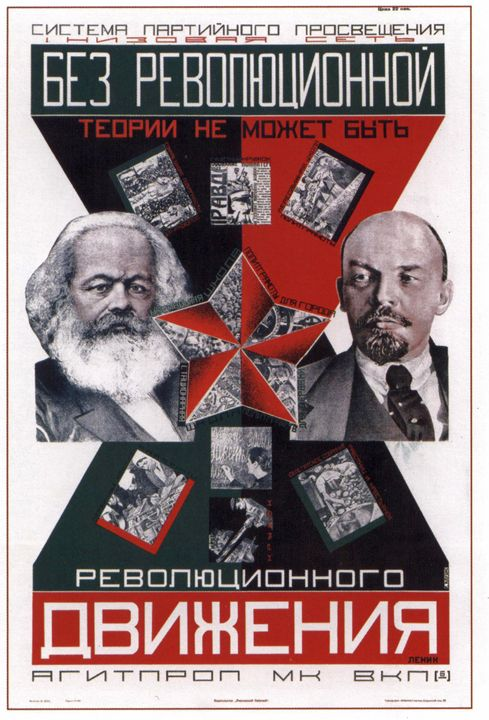 There can not be revolutionary movem - Soviet Art