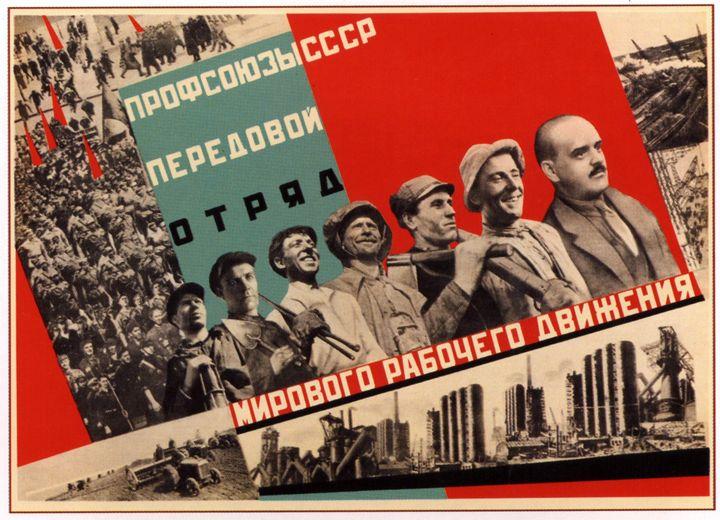 The Soviet trade unions-the vanguard - Soviet Art