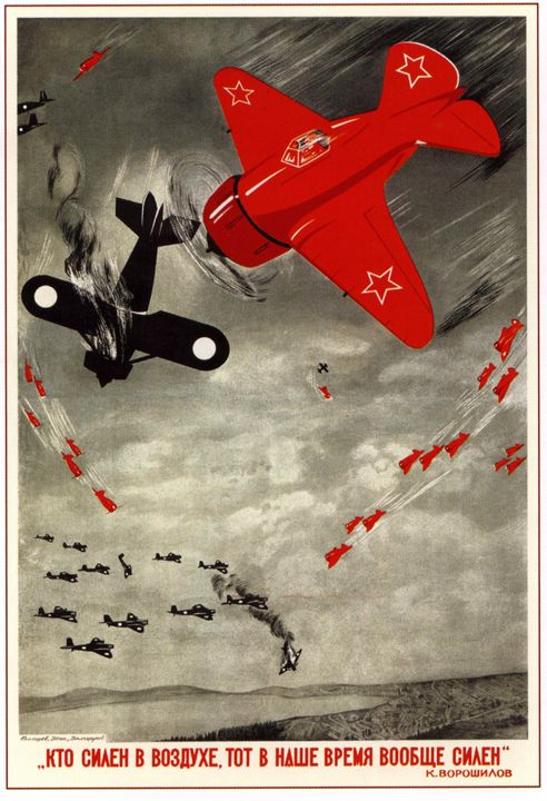 Strongest in the air is the stronges - Soviet Art