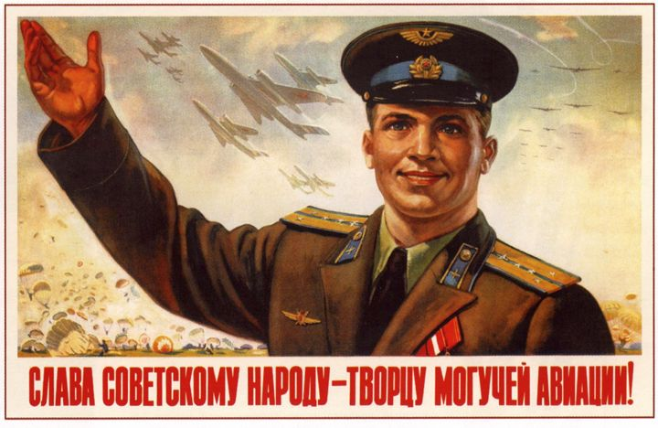 Glory to the Soviet people - the cre - Soviet Art