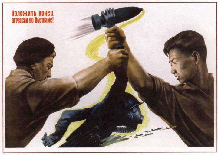 Put the aggression in Vietnam to an - Soviet Art