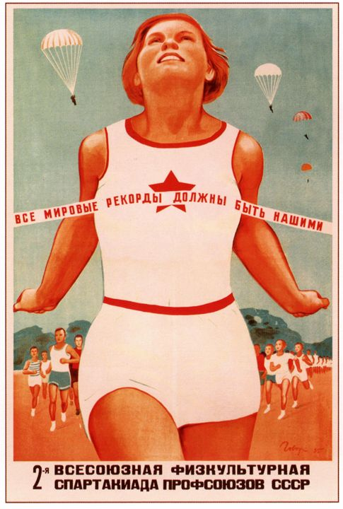 All world records should be ours - Soviet Art