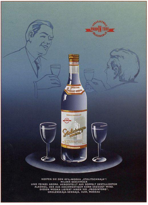 Stolichnaya Vodka - Soviet Art