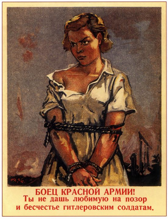 A soldier of the Red Army! Do not gi - Soviet Art