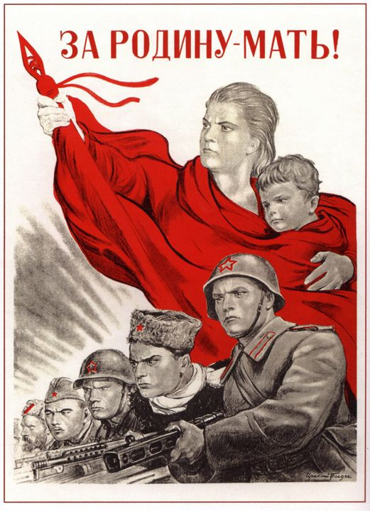 For Mother Russia! - Soviet Art