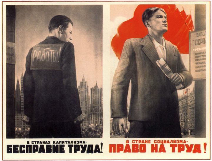 In the capitalist countries - lawles - Soviet Art