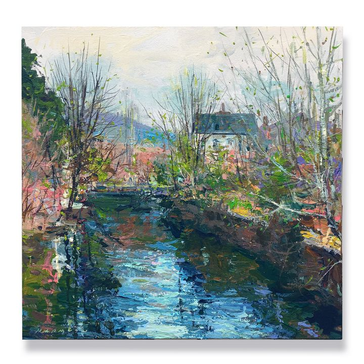 spring on the canal - will harmuth