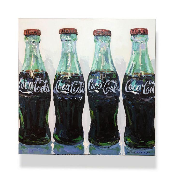 coke bottles - will harmuth