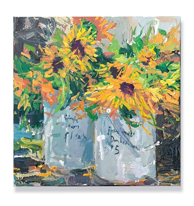roadside sunflowers - will harmuth