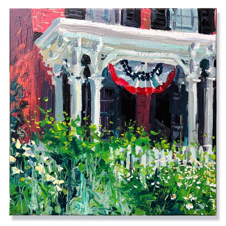 the front porch garden - will harmuth