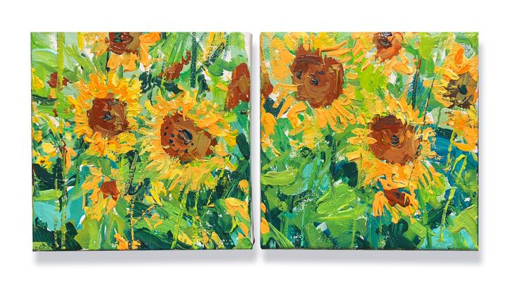 sunflowers - will harmuth