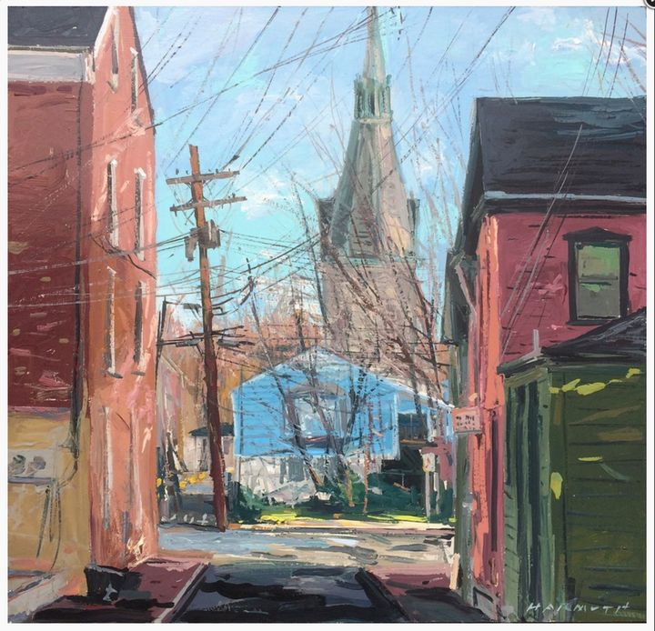 side street lambertville - will harmuth