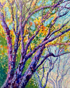 Live Oaks in my Yard - Carolyn Margaret Weir