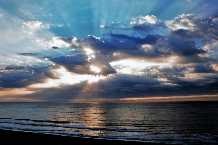 October Sunrise at Myrtle Beach - Lisa M. Moore