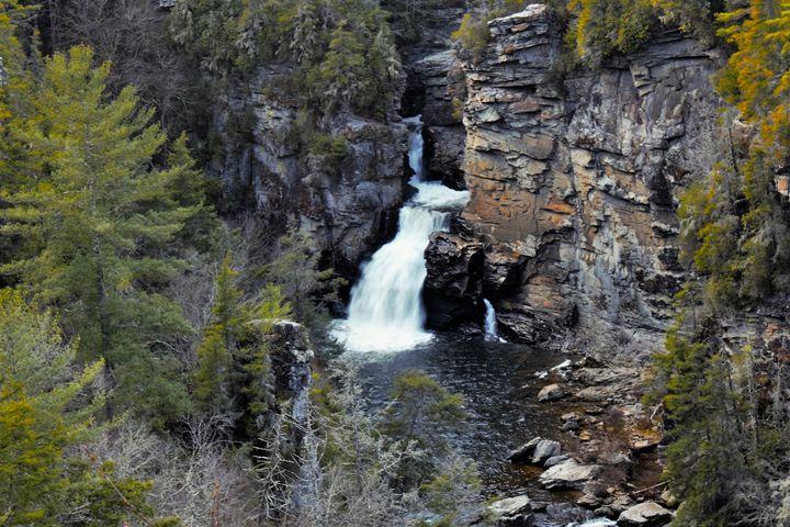 Linville Falls - Lisa M. Moore