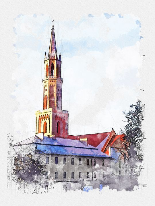 Church, Bolesławiec, Poland - Angelina Fox