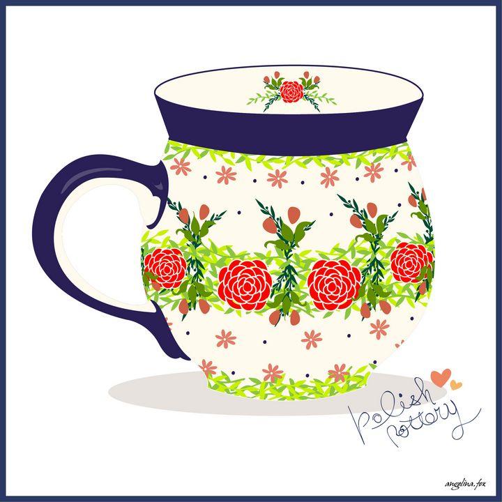 Polish Pottery - Angelina Fox
