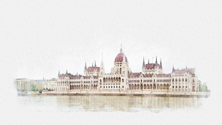 Hungarian Parliament Building - Angelina Fox