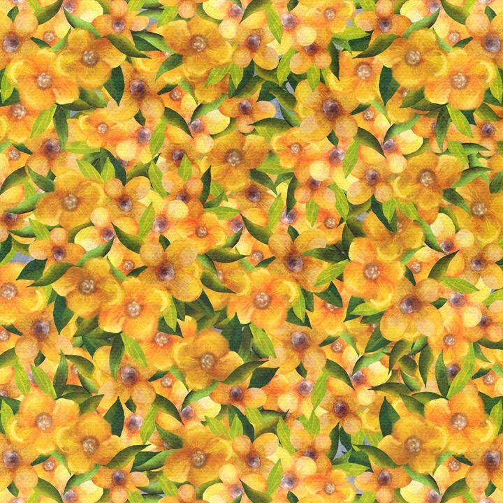 Yellow flowers - Angelina Fox