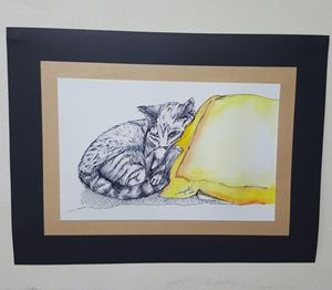 Sleeping kitty #1