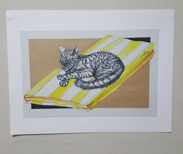Sleeping kitty #2 - muddmitaq