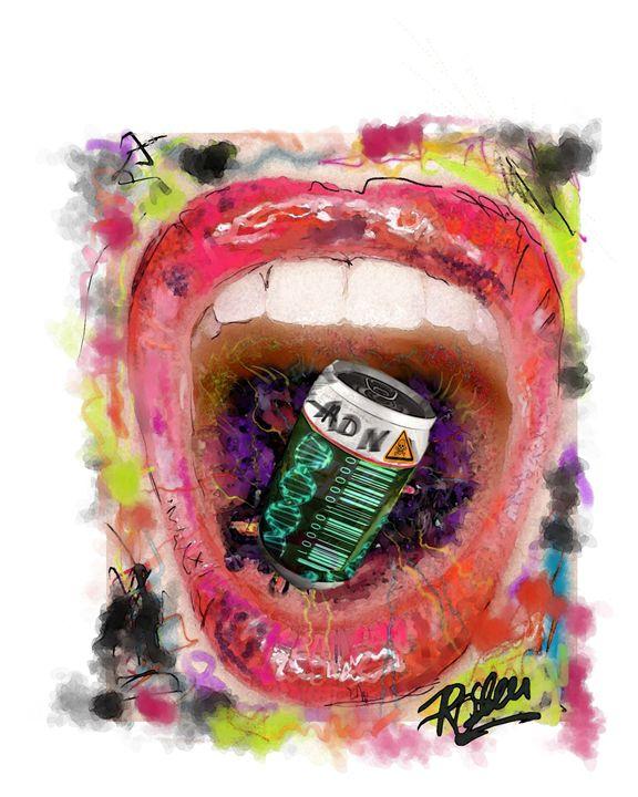 Mouth ADN - Looney art