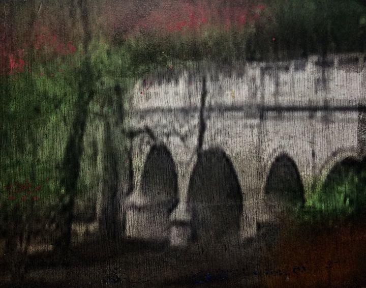 Brandywine park bridge. - Made by hand art gallery