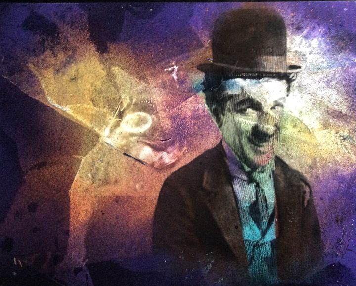 Charles Chaplin - Made by hand art gallery