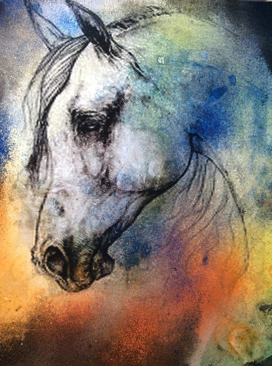 Wild Horse - Made by hand art gallery