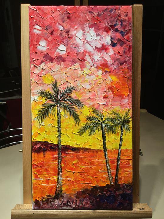 Palms - Anna Reznik Art