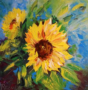 Sunflowers 40*40 cm