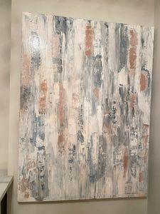 Abstract palette knife-AM