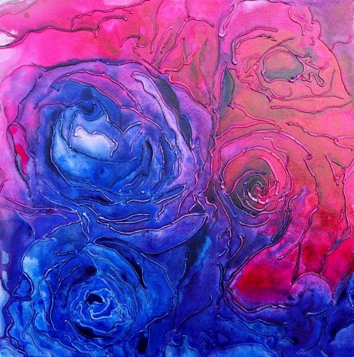 English Roses - Brittney Palmer Art