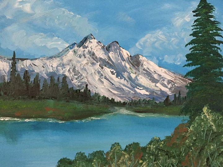 Mountain stream - Amy Valiante