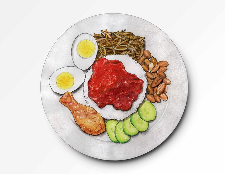 Nasi Lemak - I Art Food