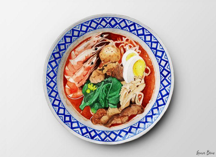 Homemade Hokkien Mee - I Art Food
